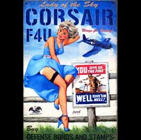 CORSAIR PINUP TARGET TONIGHT AVION AVIONS PIN UP MISTAKES BETISES BAS COUTURE FETISH