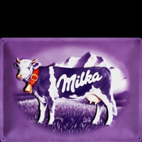 Plaque decoration MILKA CHOCOLAT SUISSE