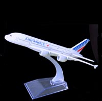 AIR FRANCE A 380 AIRBUS CONCORDE MAQUETTE METAL