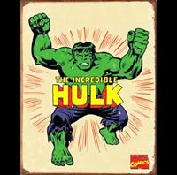 HULK PLAQUE METAL BD