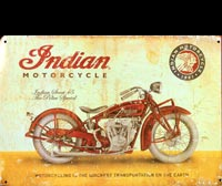 indian scout 45 plaque vintage indian motor 1901
