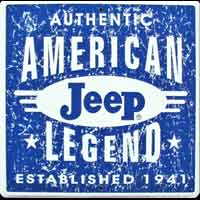 JEEP LEGEND déco garage