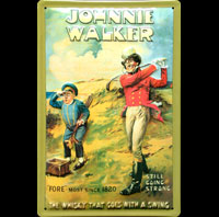 WHISKY JOHNNY WALKER GOLF