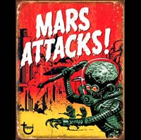 MARS ATTACKS ATTAQUE UFO