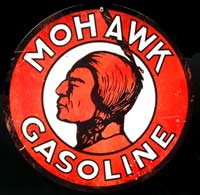 MOHAWK GASOLINE CHEF INDIEN ESSENCE