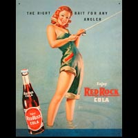 RED ROCK COLA GIRL