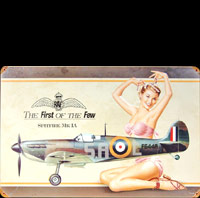 PIN UP SPITFIRE