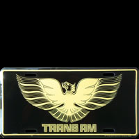 TRANS AM PLAQUE US LICENSE PLATE