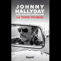 LIVRE JOHNNY HALLIDAY LA TERRE PROMISE LAETITIA