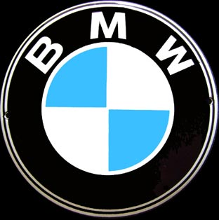plaque maill e bmw logo z1 z8. Black Bedroom Furniture Sets. Home Design Ideas