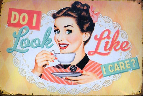 PIN UP CAFE plaque metal pinup garage rules outils mecano