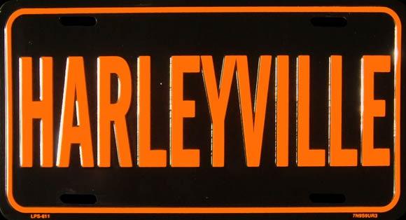 lp harleyville plaque immatriculation. Black Bedroom Furniture Sets. Home Design Ideas