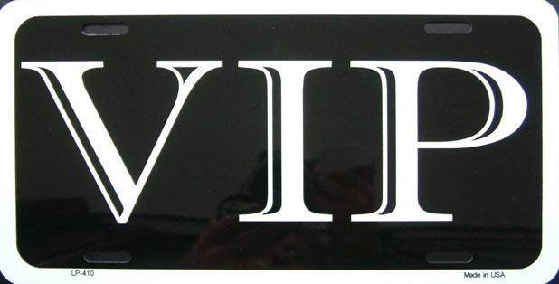 vip plaque d 39 immatriculation m tal 30x15 cm. Black Bedroom Furniture Sets. Home Design Ideas